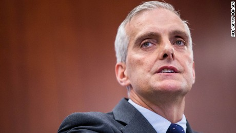 White House Chief of Staff Denis McDonough speaks during a conference between The Center for Strategic and International Studies(CSIS and the Justice Department at the CSIS building September 14, 2016 in Washington, DC.