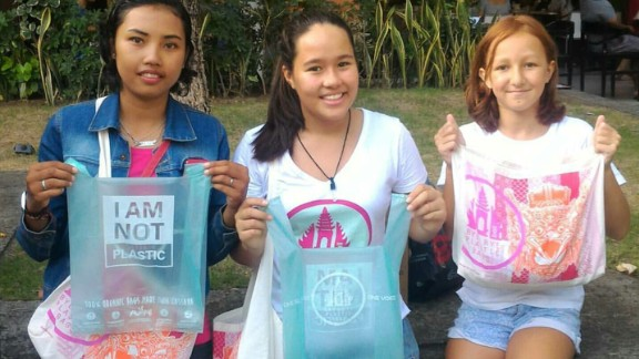 "Avani Eco has allied with ""Bye Bye Plastic Bags"" campaigners Melati and Isabel Wijsen to lobby the Balinese government to control plastic pollution.   As of 2018, conventional plastic bags will be banned on the island."