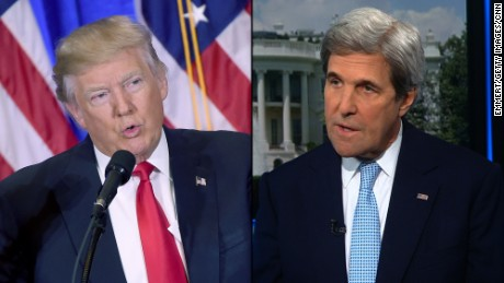 Trump slams Kerry over 'shadow diplomacy' to save Iran deal