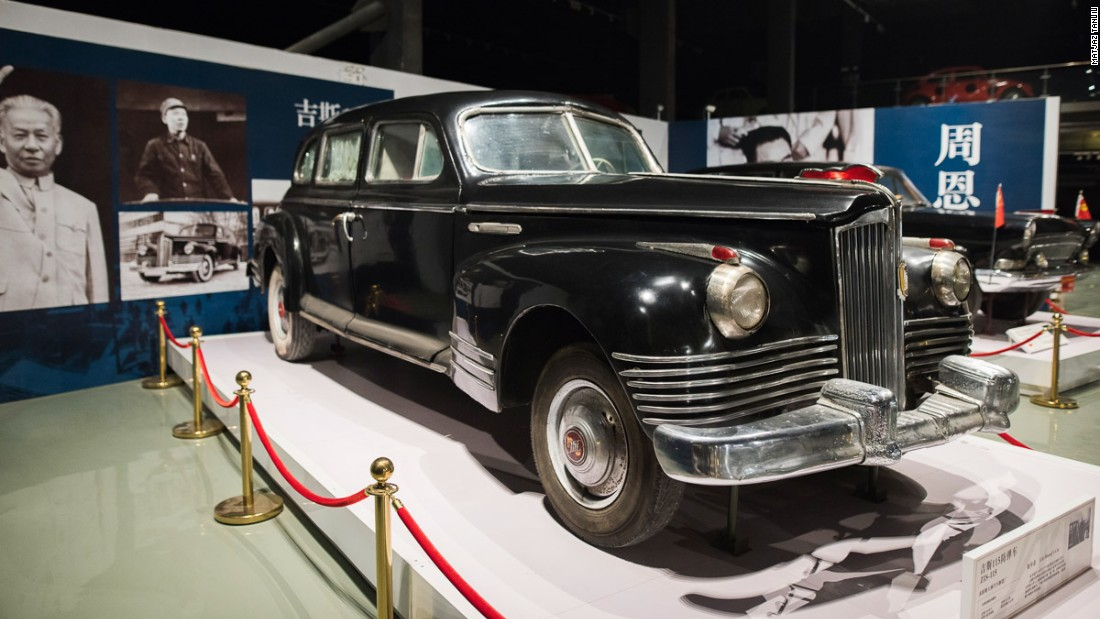 Classic cars tell the story of Communist China - CNN Style