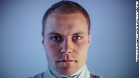 MONTMELO, SPAIN - FEBRUARY 19:  (EDITORS NOTE: This image was processed using digital filters) Valtteri Bottas of Finland and Williams poses for a portrait during day three of Formula One Winter Testing at Circuit de Catalunya on February 21, 2015 in Montmelo, Spain.  (Photo by Mark Thompson/Getty Images)