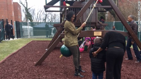 How the Obamas spent MLK Day