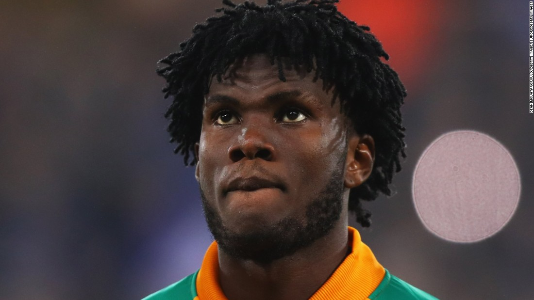 After the influential Toure brothers retired from international football, a new generation of stars has been charged with stepping forward for Côte d'Ivoire, including Franck Kessie (pictured), Jonathan Kodjia and competitive debutant Wilfried Zaha.