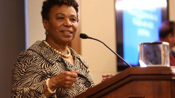 Barbara Lee announces bid for Democratic Caucus chair