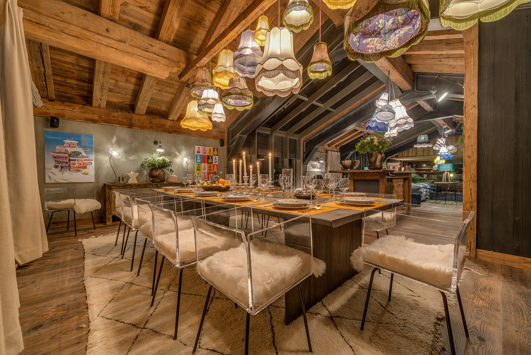 Ski Chalet Interior Design europe's 11 best luxury ski chalets | cnn travel