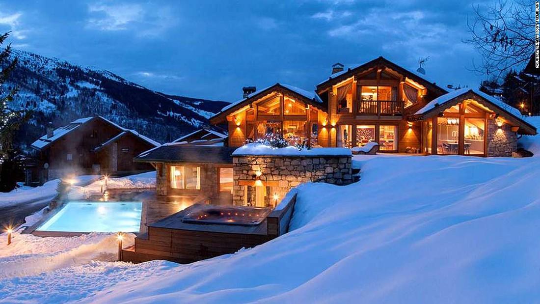 Luxury ski chalet home design for Ski chalet home plans