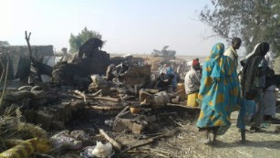 Nigerian fighter jet strikes refugees, aid workers in Borno