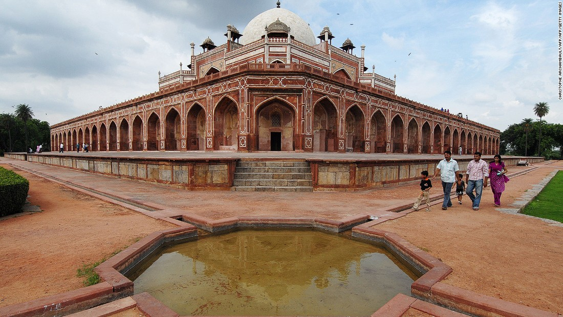 <strong>Humayun's Tomb, New Delhi: </strong>Declared a World Heritage Site in 1993, the tomb is the final resting place of the 16th-century Mughal Emperor Humayun. It was India's first garden-tomb and inspired the building of other grand mausoleums in the country including the Taj Mahal.