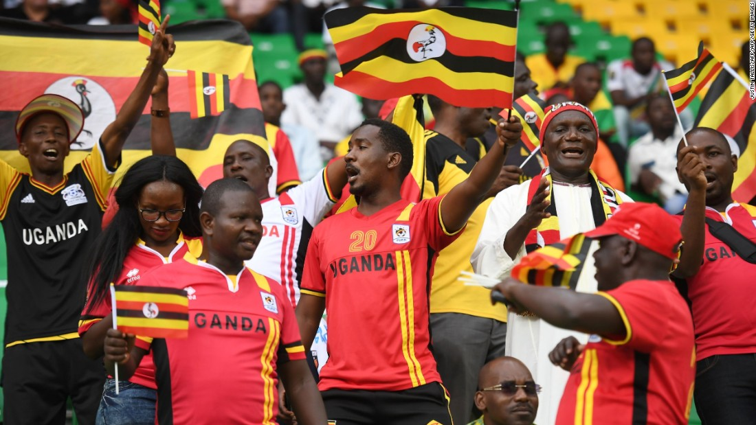Several thousand Uganda fans are estimated to have traveled to Gabon for their country's first AFCON appearance for almost 40 years.