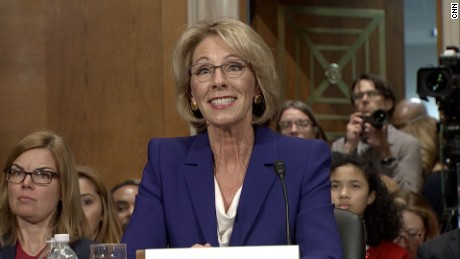 Dems mount 24-hour blitz against DeVos