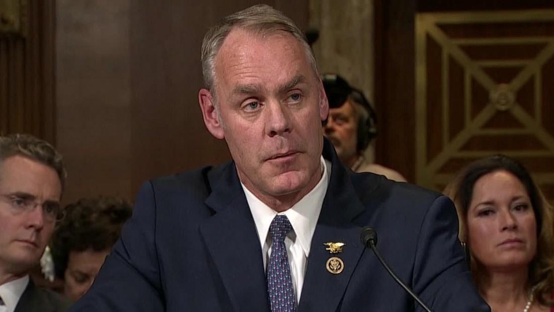 Senate approves Ryan Zinke Trumps nominee for Interior CNNPolitics