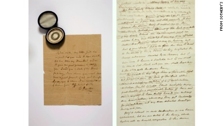 Alexander Hamilton S Letters Sell For 2 6 Million At Auction Cnn