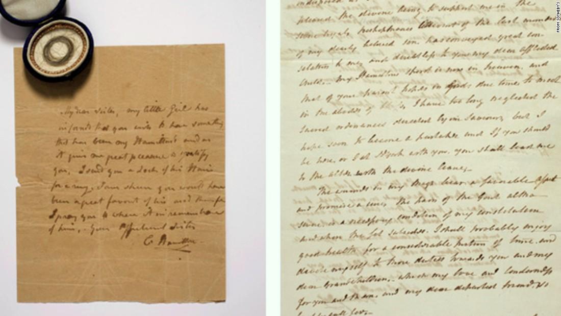 Hamilton Laurens Love Letter