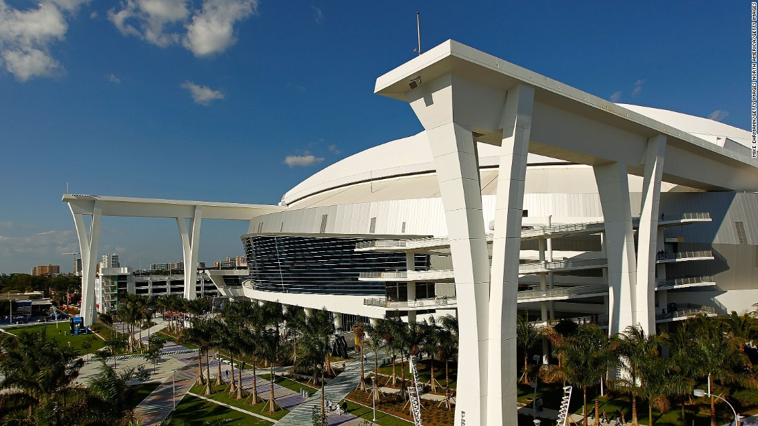 "If the roof of the Marlins' ballpark, built in 2012, stays open during ROC it will reveal stunning views of downtown Miami. ""They will also see the entire race from every angle perfectly from their seats,"" Delorme says."