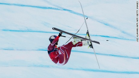 Aksel Lund Svindal walked away from a spectacular crash in Kitzbuhel last year.