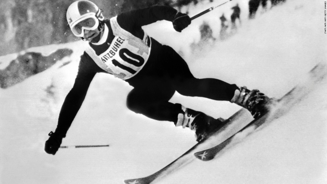 Austrian Karl Schranz won the last of three downhills in Kitzbuhel in 1972, but the race as we know it began in 1937.