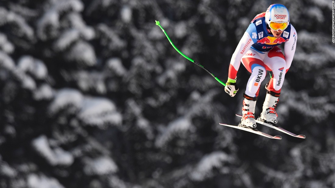 Why Kitzbuhel's Hahnenkamm downhill is skiing's wildest race
