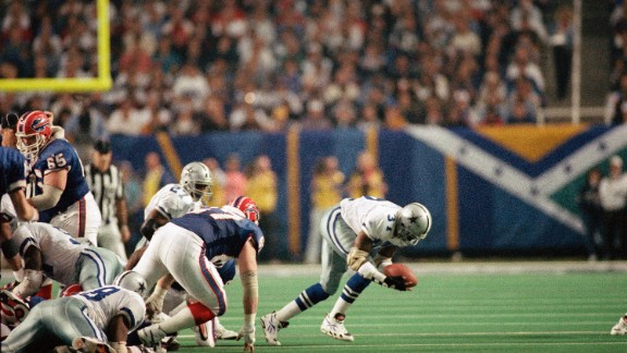 James Washington of the Dallas Cowboys recovers the football after a fumble by the Buffalo Bills
