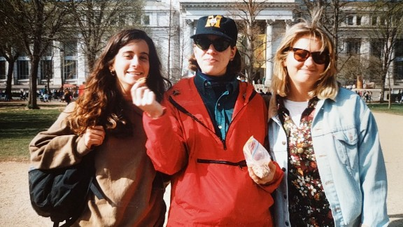 "Lisa Levine, Jessica Sisto and Jennifer ""Penny"" Martinand at the 1992 women"
