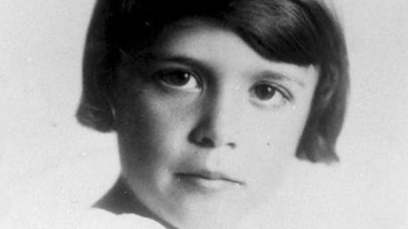 Bush is pictured at age 7, circa 1932. She was born Barbara Pierce on June 8, 1925.