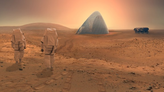 """The Space Exploration Architecture and Clouds Architecture Office took home first prize for their """"ice House"""" design in NASA"""
