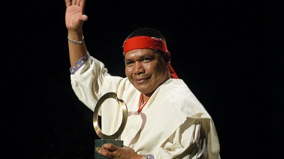 Activist Isidro Baldenegro López was the leader of Mexico's indigenous Tarahumara people.