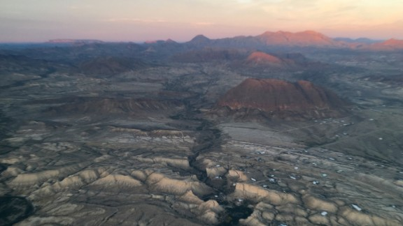 """Many Texas residents in the Big Bend National Park region believe that the various miles of remote canyons and rivers already act as an """"effective barrier"""" with Mexico."""