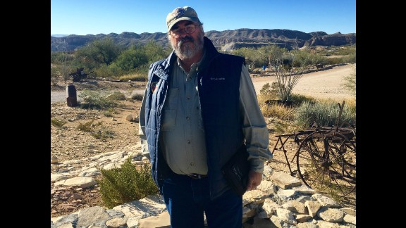 """Marcos Paredes has lived near Terlingua, Texas -- a former """"ghost town"""" --  for much of his life. He spent years as a law enforcement officer responsible for patrolling the Rio Grande. """"To come up with a one-sized fits all solution for illegal immigration is crazy,"""" Paredes told CNN.   """"Because the border is so different along its entire links."""""""