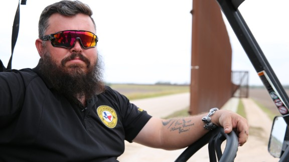 """Robert Cameron, owner of Texas Border Tours in Progreso Lakes, Texas, is in favor of President Trump's proposed wall, but he knows it will be complicated to build through parts with rough terrain. """"I want to see a wall,"""" Cameron told CNN. """"Not a fence. I want to see a wall. I want to see something that you can't see through, that you can't climb through."""""""