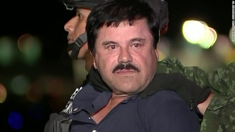 Joaquin 'El Chapo' Guzman extradited to US
