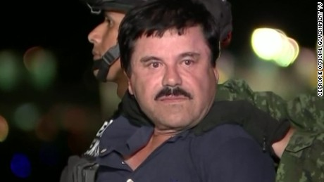 Joaquin 'El Chapo' Guzman extradited to US