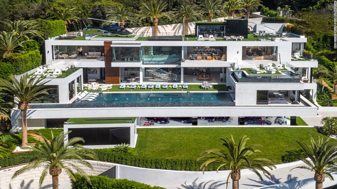 The most expensive house in America - on sale for $250 million - CNN House Designs Exterior Night California on bedroom night, window house night, landscaping house night, kitchen night, bathroom night, home house night, water house night,