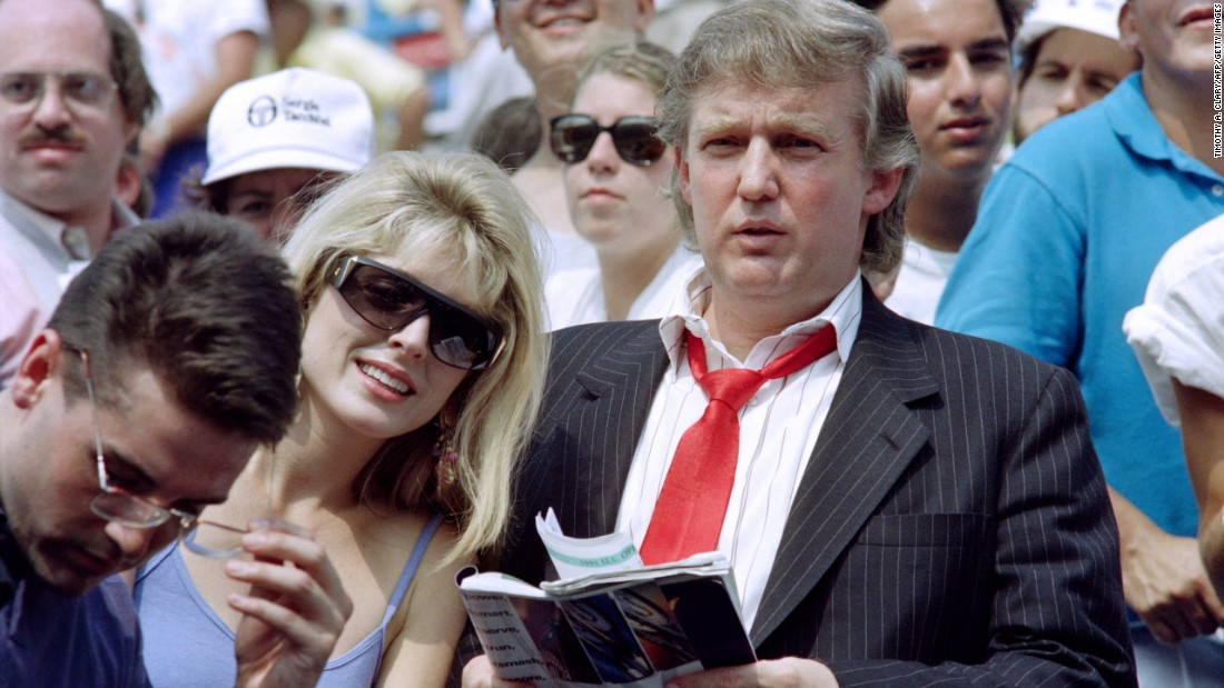 Trump is a regular visitor to the US Open tennis tournament, though he was booed by the crowd when he attended in 2015. He even tried his hand at managing US player Monique Viele around the turn of the millennium, though her highest singles ranking was 817 in the world.