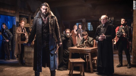 Jason Momoa and cast by Netflix & # 39; s & # 39; Frontier