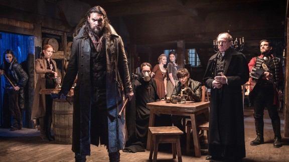Jason Momoa and the cast of Netflix's 'Frontier'