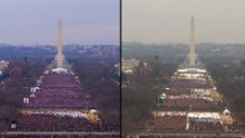 The obamas greet the trumps at white house cnn video inaugural crowd sizes trump v obama m4hsunfo
