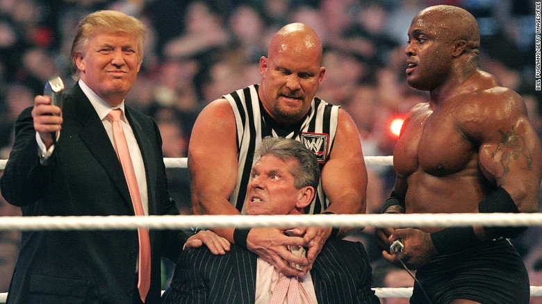 How professional wrestling perfectly explains Donald Trump's 'Superman' stunt