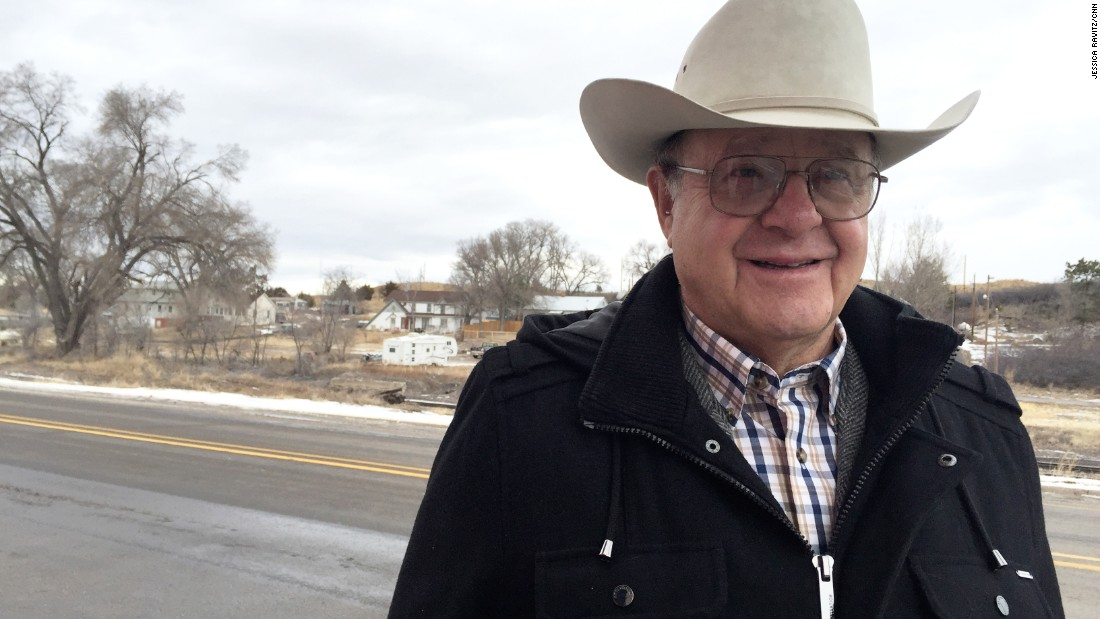 "Tom White, 71, is a county commissioner. He says younger people are returning to the area. ""They found out life on the other side wasn't so sweet after all,"" he says."
