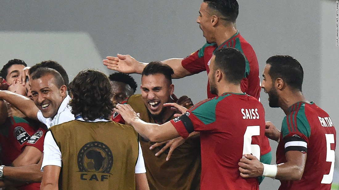 And when substitute Youssef El-Neysri beat the Togo goalkeeper easily at his near post, it was all over, sending Morocco second in the group behind DR Congo.