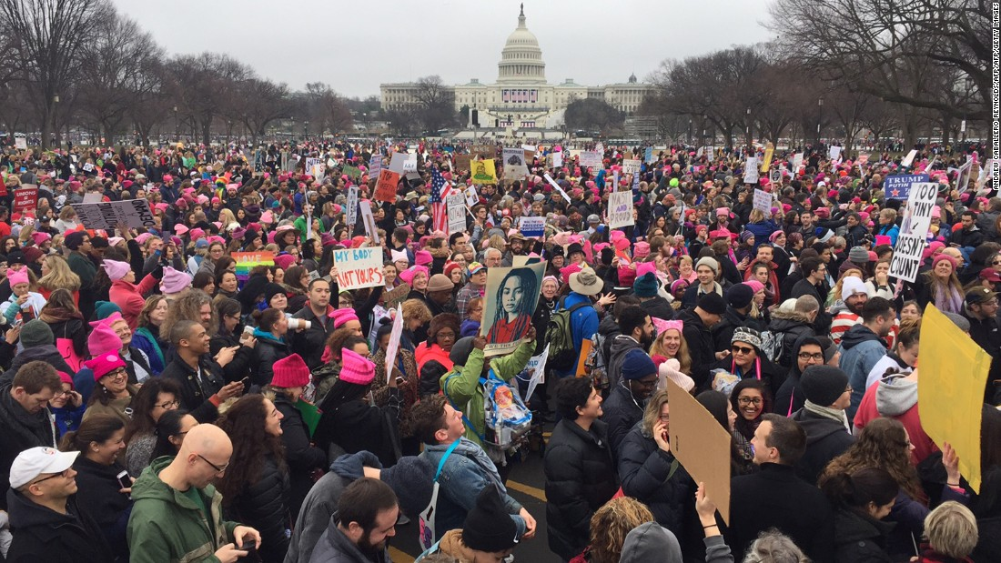 What you need to know about today's Women's March