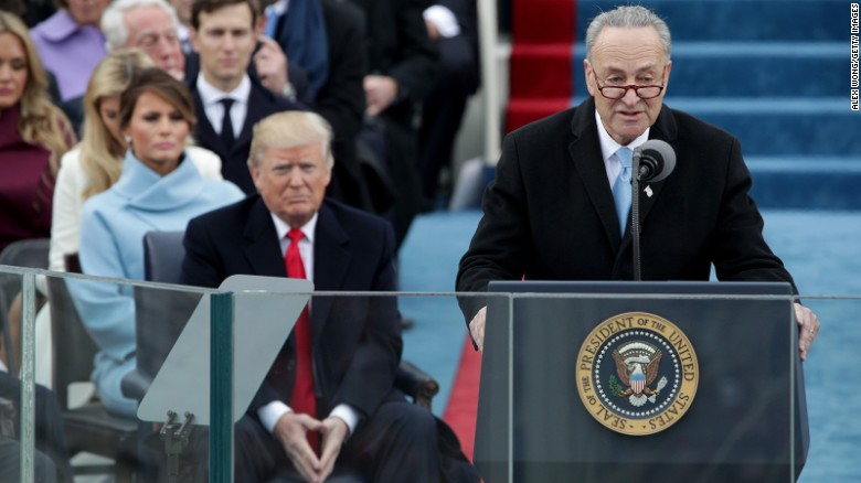 Schumer: Trump populism masks hard-right agenda