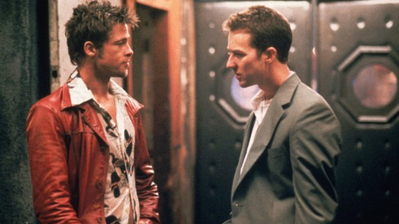 Brad Pitt, left, is Edward Norton