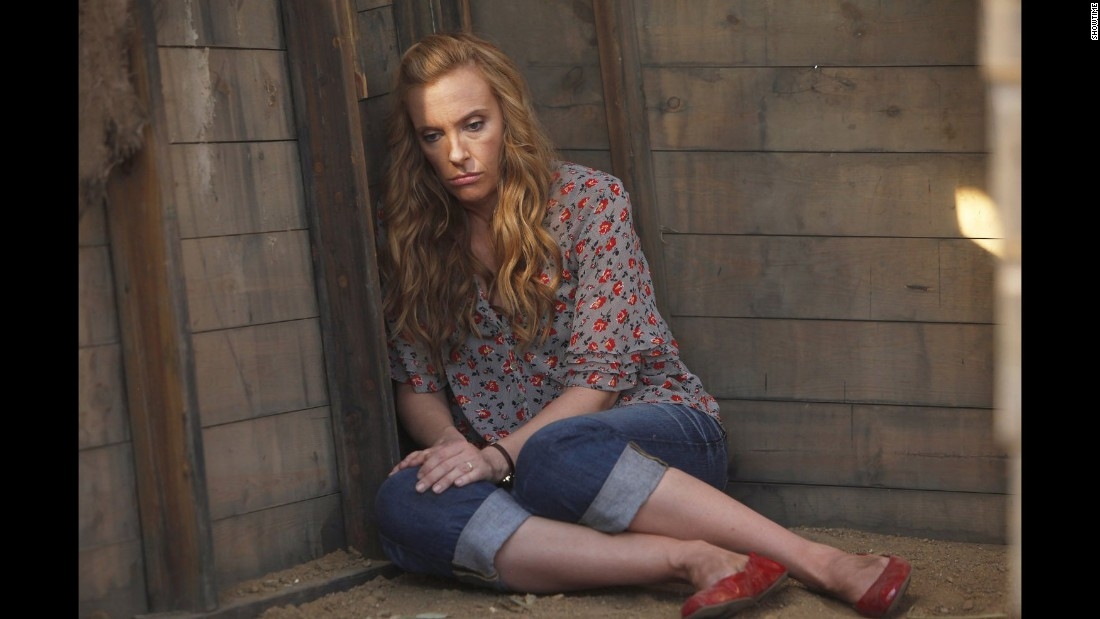 "Toni Collette played a suburban mother with multiple personalities in Showtime's ""United States of Tara."""