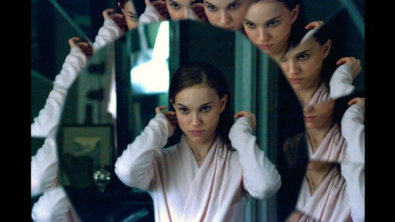 """Black Swan"" features imagined scenes between Natalie Portman, who plays a ballerina, and a fellow dancer played by Mila Kunis. However, Portman"