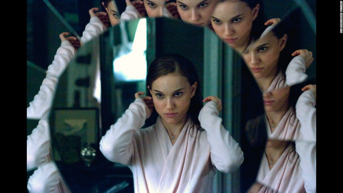 """Black Swan"" features imagined scenes between Natalie Portman, who plays a ballerina, and a fellow dancer played by Mila Kunis. However, Portman's character also exhibits signs of a psychotic disorder, which is separate from dissociative identity disorder."