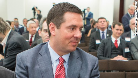 "Reps. Mac Thornberry (R-TX), Devin Nunes (R-CA), and House Speaker Paul Ryan, (R-WI) chat before a session on ""Protecting the U.S. Homeland"" at The Council on Foreign Relations on June 9, 2016, in Washington, D.C."