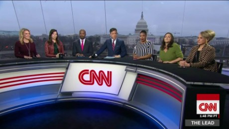 saturday edition the lead panel womens march trump cia inauguration jake tapper_00000512