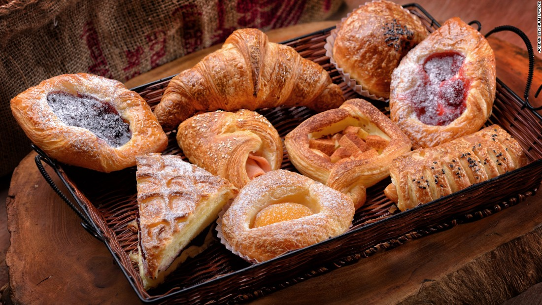 Baked breads and pastries can also lead to excess acrylamide production if burnt or cooked for longer than needed.