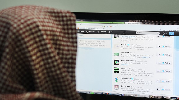 Twitter has become hugely popular with Saudi Arabians seeking an outlet for their opinions and a place to engage in free discussion.
