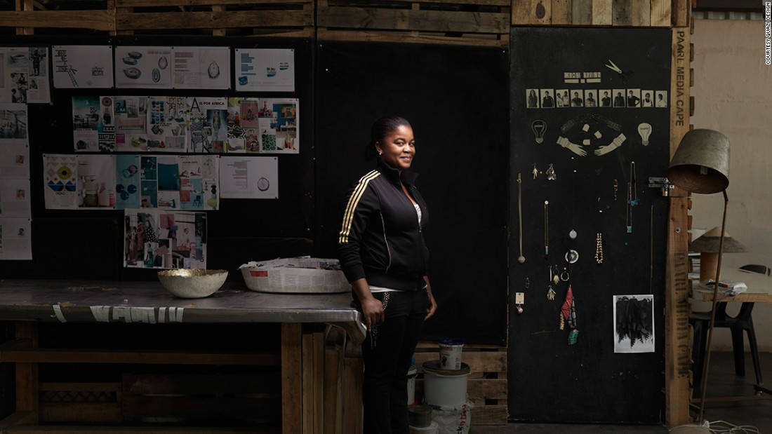 Cebsile Ndzimandze (pictured) is one of the artisans working for Quazi Design since 2012.